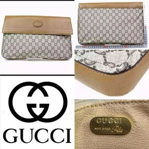 GUCCI plus RARE large clutch/carry bag